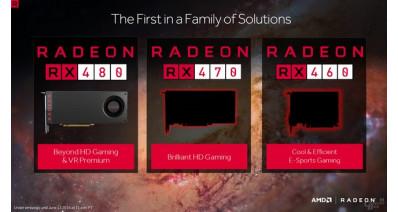 Новые слайды и результаты тестирования видеокарт AMD Radeon RX 470 и RX 480