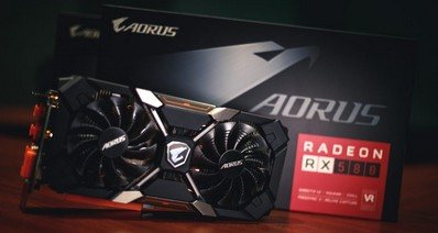 Фото новой игровой видеокарты AORUS Radeon RX 580 Xtreme Edition
