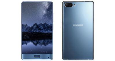 Doogee выпустила безрамочный смартфон Doogee Mix