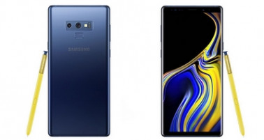 Представлен флагманский смартфон Samsung Galaxy Note9