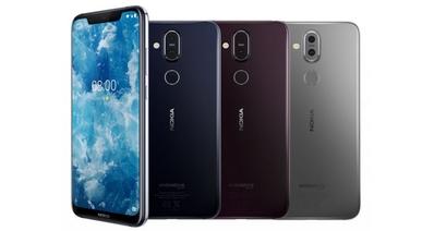 Официальный дебют смартфона Nokia 8.1