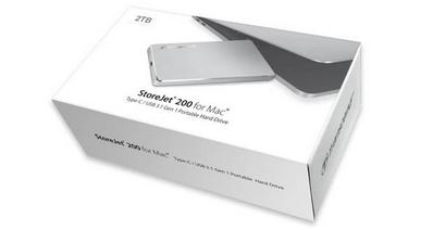 Transcend представили портативный внешний накопитель для Mac-компьютеров Transcend StoreJet 200