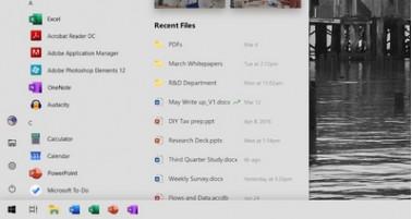 Так может выглядеть обновленный Пуск ОС Windows 10