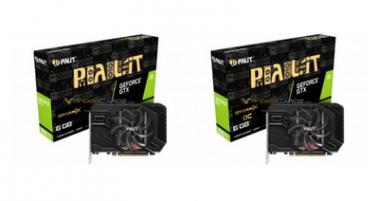 Первый взгляд на видеокарты GeForce GTX 1660 Ti от Palit и EVGA