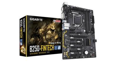 GIGABYTE выпустила материнскую плату для майнеров GIGABYTE GA-B250-FinTech