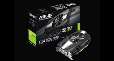 Анонсирована 6-гигабайтная версия видеокарты ASUS Phoenix GeForce GTX 1060