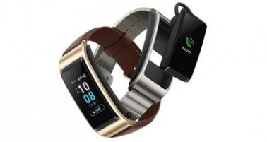 Huawei представила фитнес-трекер и Bluetooth-гарнитуру TalkBand B5