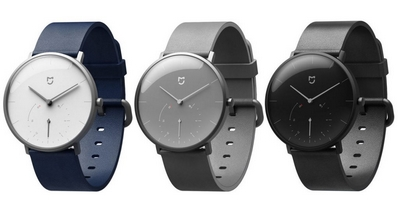 Xiaomi представила гибридные смарт-часы Mijia Quartz Watch от Xiaomi с автономной работой до 6 месяцев