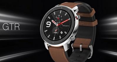 Huami анонсировала умные часы Amazfit GTR с AMOLED дисплеем, GPS, NFC и автономностью до 24 дней