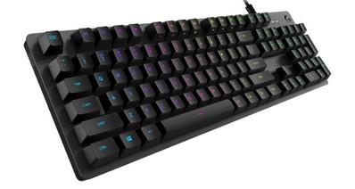 Logitech анонсировала механическую игровую клавиатуру Logitech G512 с переключателями Tactile, Linear и GX Blue