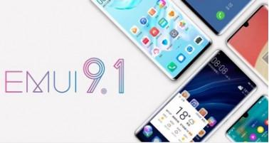 Huawei начнёт распространение прошивки EMUI 9.1 уже на этой неделе