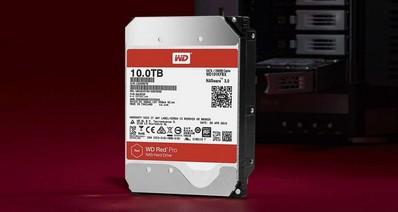 Western Digital представили две новые модели 10-терабайтных HDD серий WD Red и WD Red Pro