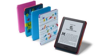 Amazon представила первый ридер для детей Kindle Kids Edition