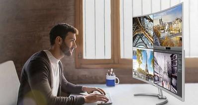 Презентовали самый большой 4K-монитор с изогнутым экраном Philips BDM4037UW