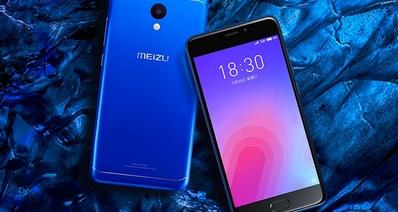 Представлен смартфон Meizu M6 с 5,2-дюймовым экраном и процессором Mediatek MT6750