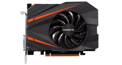 Видеокарта GIGABYTE GeForce GTX 1080 Mini ITX 8G для компактных систем