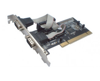 Адаптер PCI Card to COM 2 port STLab I-390 (MCS98651V)
