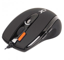 Мышь A4Tech X-710BK Black