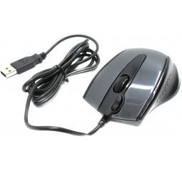 Мышь A4Tech N-500F-1 USB Glossy Grey