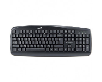 Клавиатура Genius KB-110X PS/2 Black CB (31300711107)