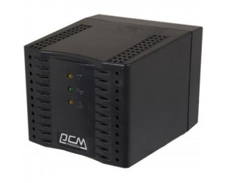 Стабилизатор напряжения Powercom TCA-2000 Black, 1000Вт