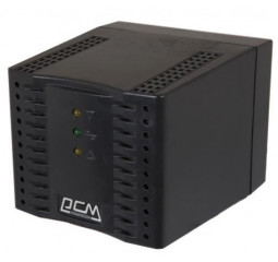 Стабилизатор напряжения Powercom TCA-1200 Black, 600Вт
