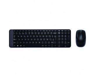Клавиатура и мышь беспроводная Logitech Wireless Combo MK220 (920-003172/920-003169)