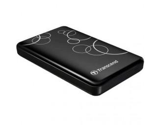 Внешний жесткий диск 1 TB Transcend StoreJet 25A3 (TS1TSJ25A3K)