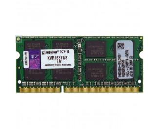 Память для ноутбука SO-DIMM DDR3 8 Gb (1600 MHz) Kingston (KVR16S11/8)