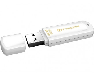 Флешка USB 3.0 64Gb Transcend JetFlash 730 White (TS64GJF730)