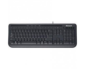 Клавиатура Microsoft Wired Keyboard 600 (ANB-00018) USB Black Ret