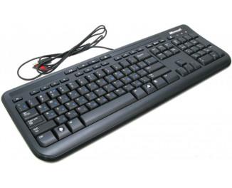 Клавиатура Microsoft Wired Keyboard 600 (ANB-00018) USB Black Ret