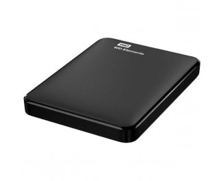 Внешний жесткий диск 1000Gb WD Elements (WDBUZG0010BBK)