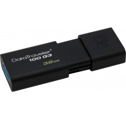 Флешка USB 3.0 32Gb Kingston DataTraveler 100 G3 Black (DT100G3/32GB)