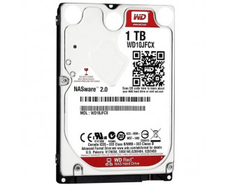 Жесткий диск 1 TB WD Red (WD10JFCX)