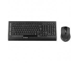 Клавиатура и мышь беспроводная A4Tech 9300F V-Track