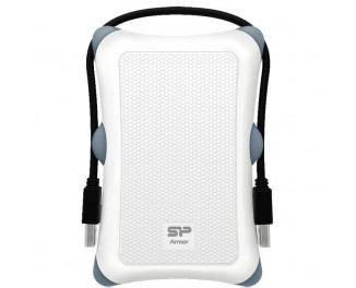 Внешний жесткий диск 1 TB Silicon Power Armor A30 White (SP010TBPHDA30S3W)