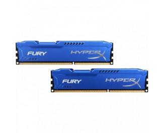 Оперативная память DDR3 8 Gb (1600 MHz) (Kit 4 Gb x 2) Kingston HyperX Fury Blue (HX316C10FK2/8)