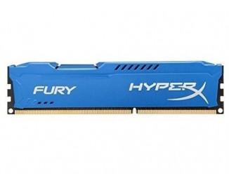 Оперативная память DDR3 8 Gb (1866 MHz) Kingston HyperX Fury Blue (HX318C10F/8)