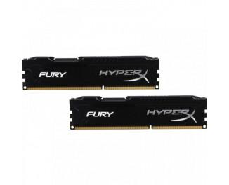 Оперативная память DDR3 16 Gb (1866 MHz) (Kit 8 Gb x 2) Kingston HyperX Fury Black (HX318C10FBK2/16)