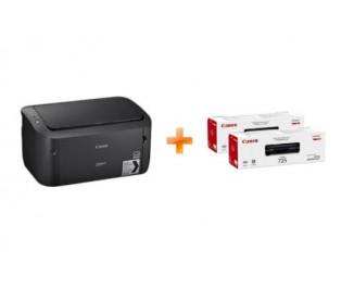 Принтер лазерный Canon i-SENSYS LBP6030B + 2X Cart 725 (8468B042)