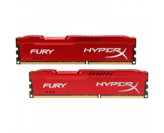 Оперативная память DDR3 8 Gb (1866 MHz) (Kit 4 Gb x 2) Kingston HyperX Fury Red (HX318C10FRK2/8)