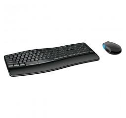 Клавиатура и мышь беспроводная Microsoft Sculpt Comfort Desktop Black USB