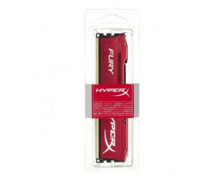 Оперативная память DDR3 4 Gb (1866 MHz) Kingston HyperX Fury Red (HX318C10FR/4)