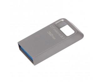 Флешка USB 3.1 32Gb Kingston DataTraveler Micro 3.1 Silver (DTMC3/32GB)
