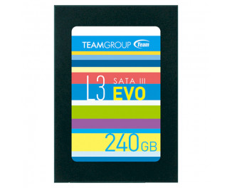 SSD накопитель 240Gb Team L3 EVO (T253LE240GTC101)