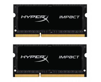Память для ноутбука SO-DIMM DDR3 16 Gb (1600 MHz) Kingston HyperX Impact (Kit 8 Gb x 2) (HX316LS9IBK2/16)