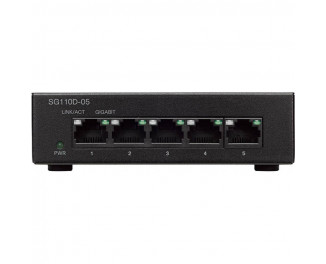 Коммутатор Cisco SB SG110D-05 (SG110D-05-EU)