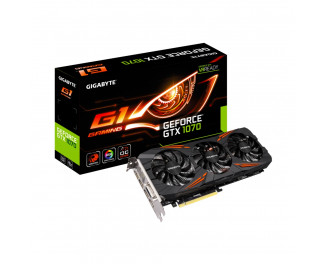 Видеокарта Gigabyte GeForce GTX 1070 G1 Gaming 8G (GV-N1070G1 GAMING-8GD)