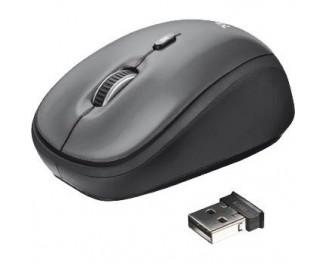 Мышь беспроводная Trust Yvi Wireless Mouse - black (18519)